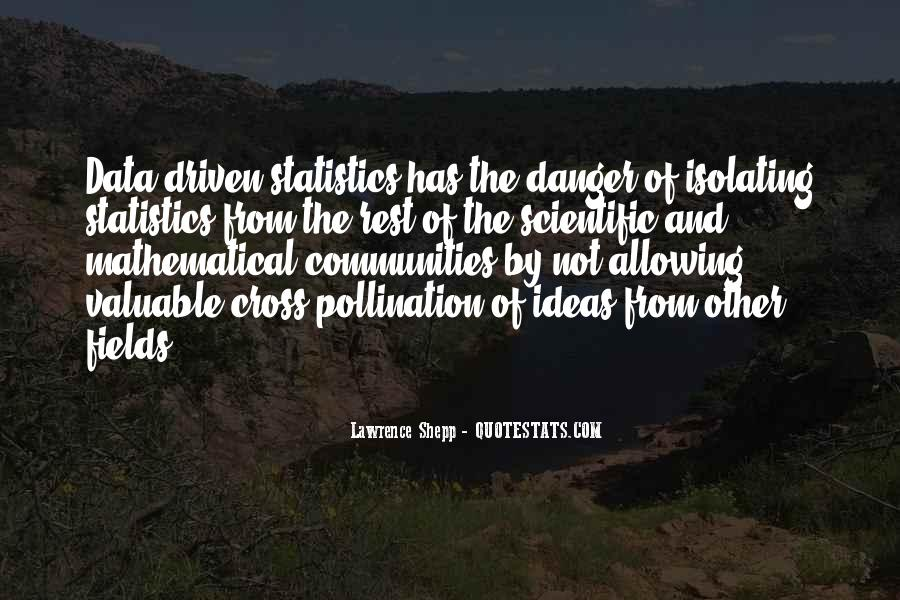 Quotes About Data And Statistics #254048