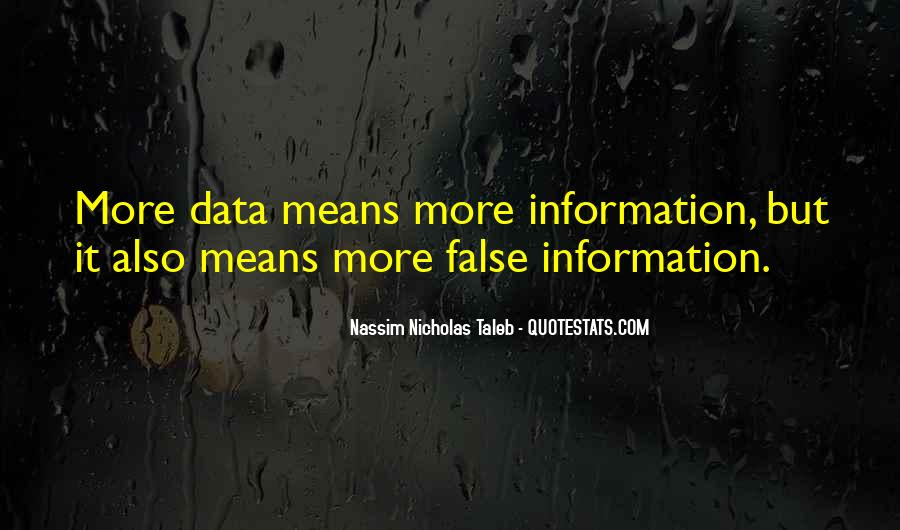 Quotes About Data And Statistics #603531