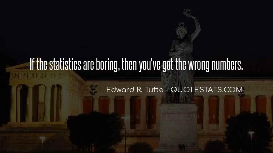 Quotes About Data And Statistics #880608