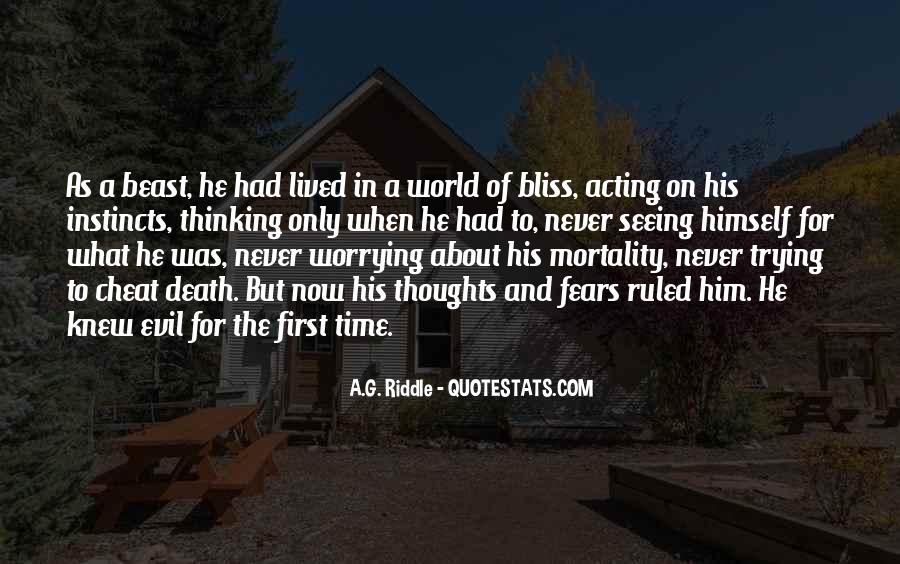 Quotes About Seeing Evil And Doing Nothing #1488106