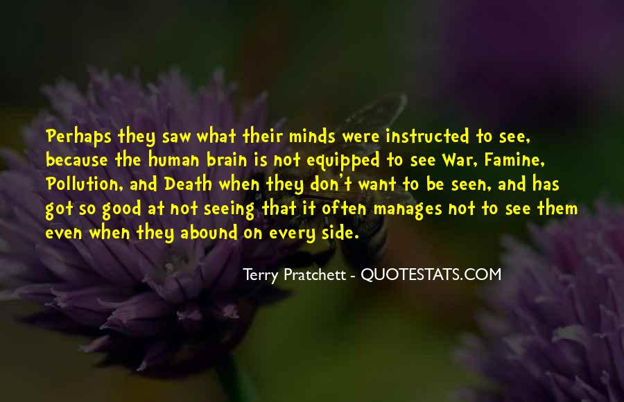 Quotes About Seeing Death #1101682