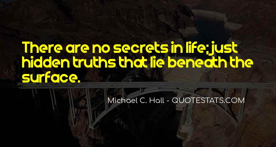 Quotes About Beneath The Surface #122178