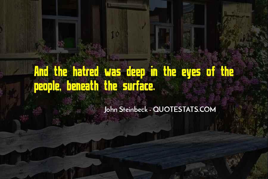 Quotes About Beneath The Surface #172620
