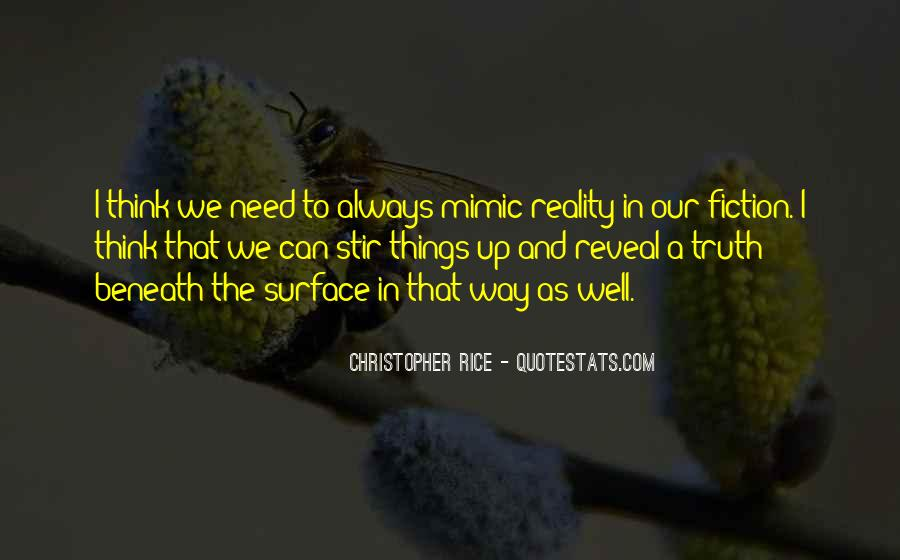 Quotes About Beneath The Surface #218850