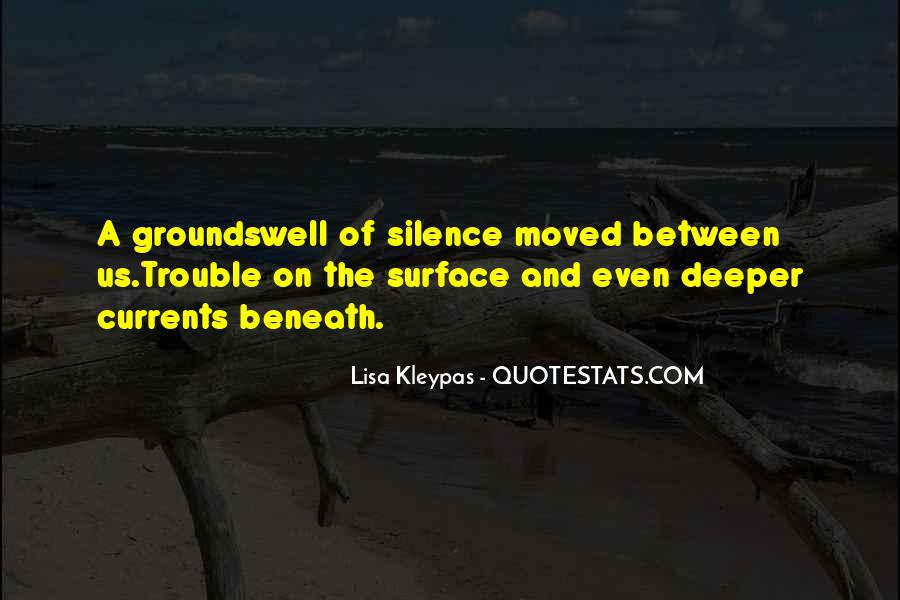 Quotes About Beneath The Surface #283726