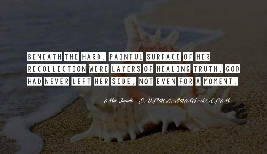 Quotes About Beneath The Surface #62213