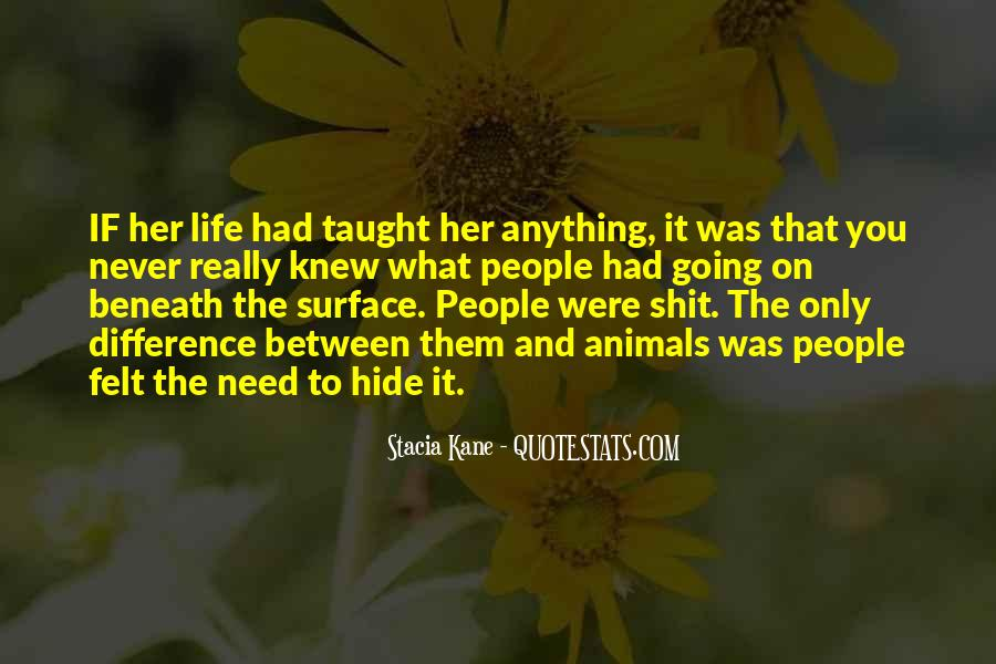 Quotes About Beneath The Surface #632140