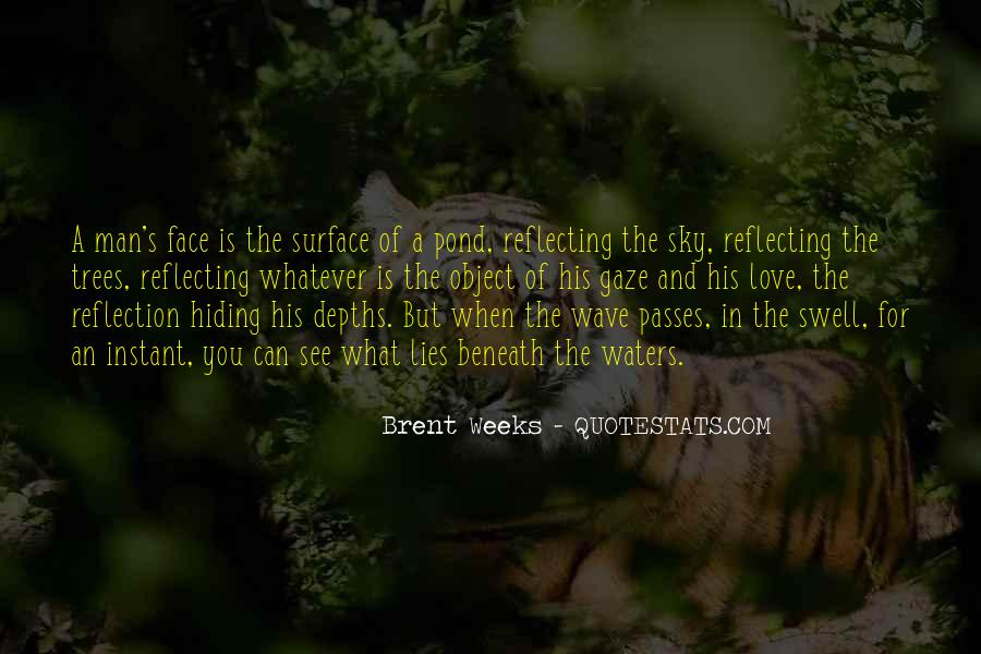 Quotes About Beneath The Surface #671776