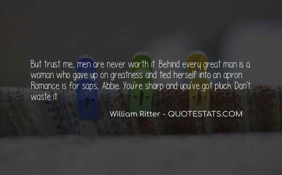 Quotes About Behind Every Great Man #230420
