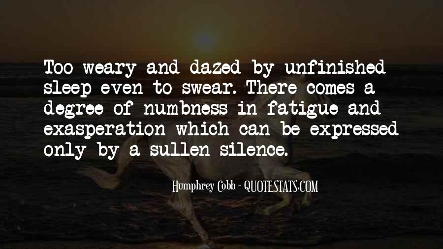 Quotes About Exasperation #801573