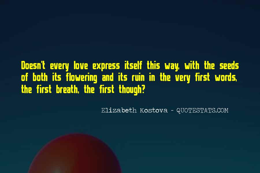 Quotes About Seeds Of Love #1118098