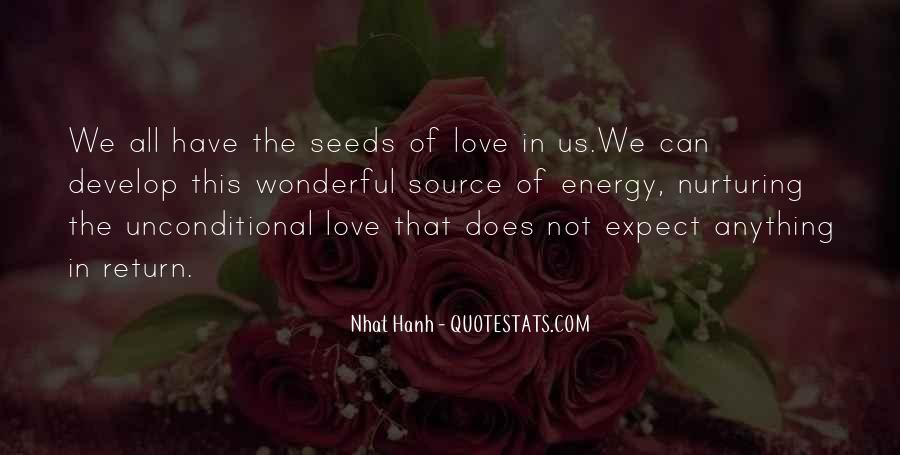 Quotes About Seeds Of Love #1645589