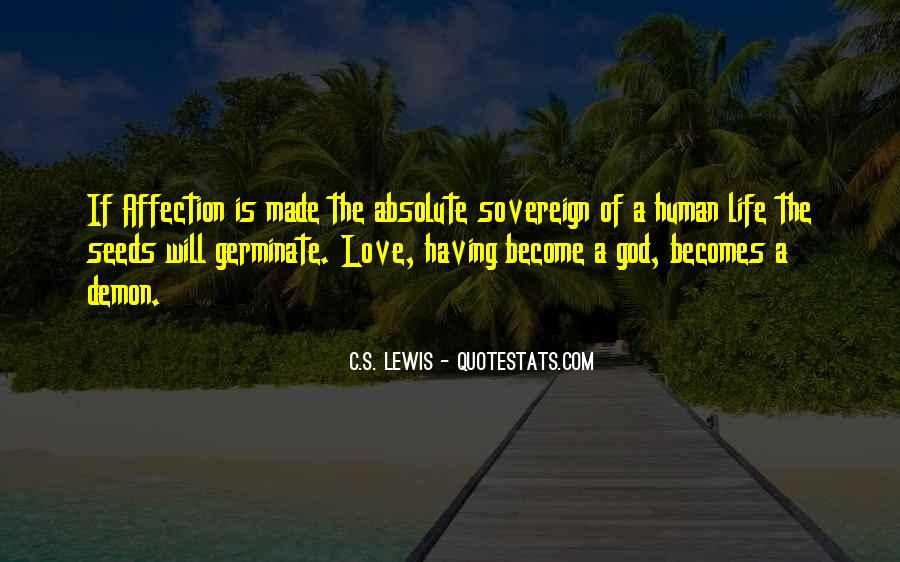 Quotes About Seeds Of Love #177462