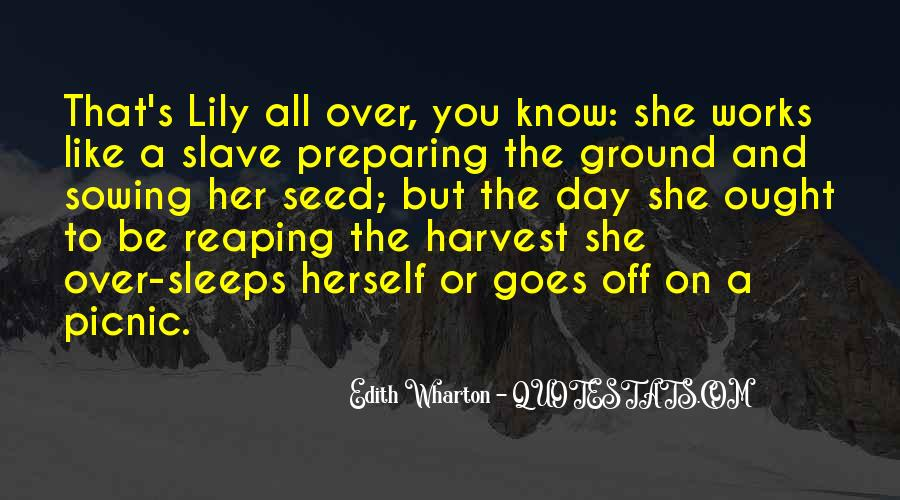 Quotes About Seed Sowing #1309348