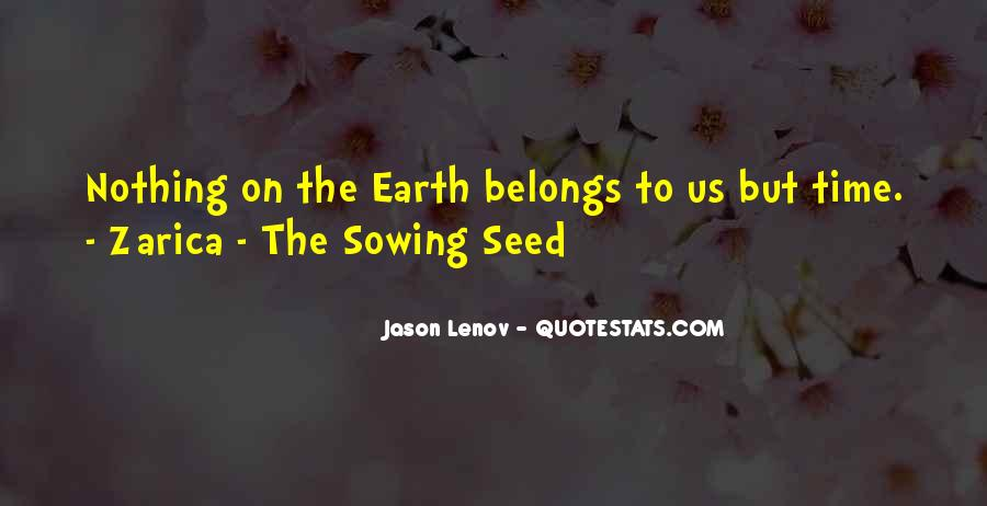 Quotes About Seed Sowing #1337384