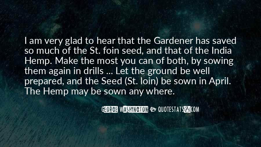 Quotes About Seed Sowing #1708787