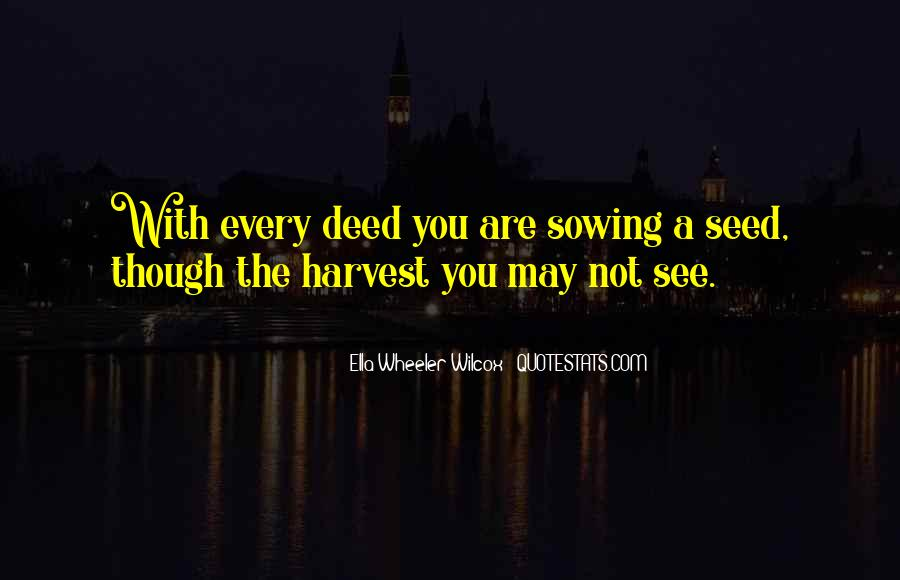 Quotes About Seed Sowing #1733494