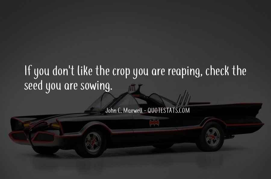 Quotes About Seed Sowing #611087