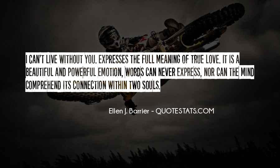 Quotes About Love Without You #147734