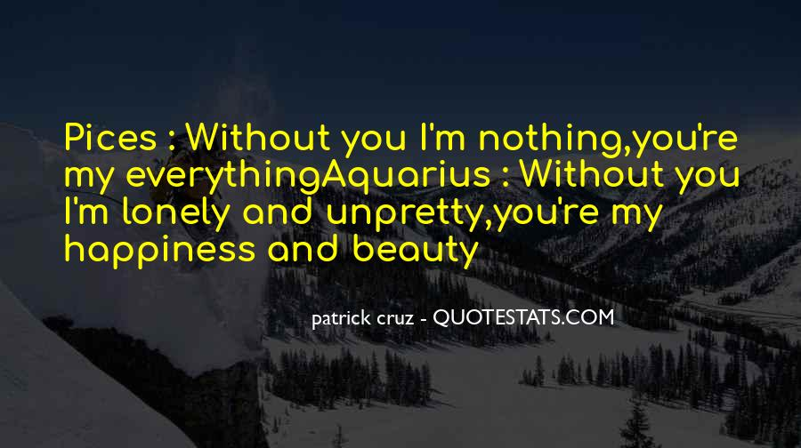 Quotes About Love Without You #84163
