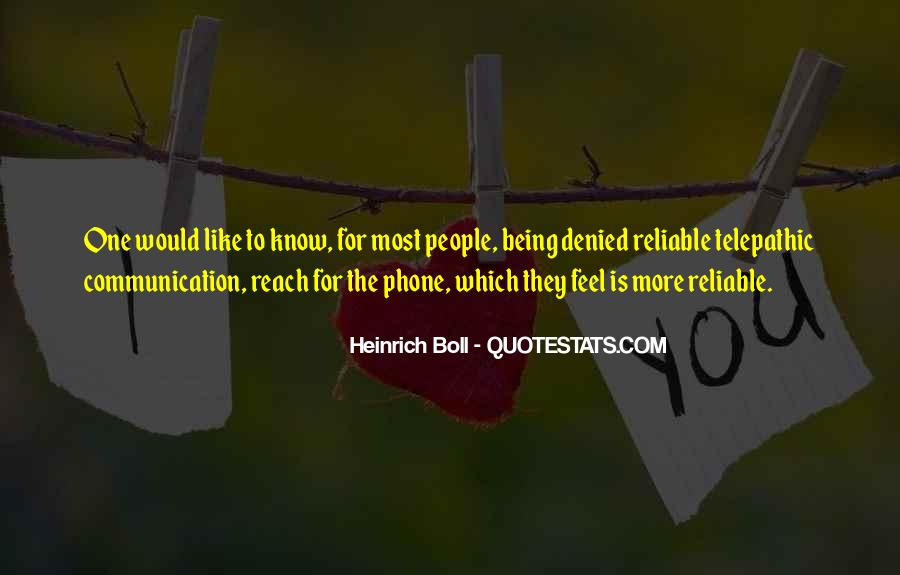 Quotes About Phone Communication #256726