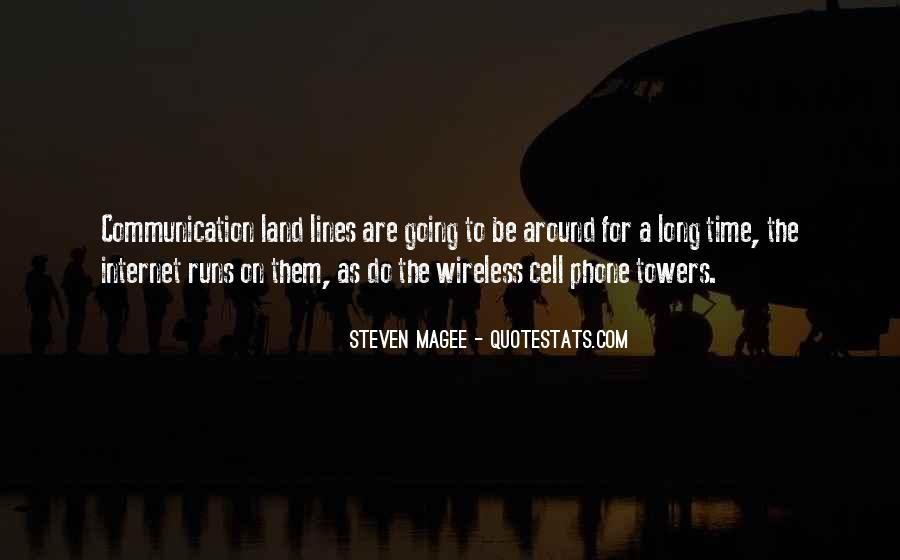 Quotes About Phone Communication #428447