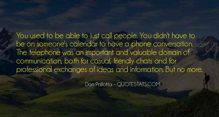 Quotes About Phone Communication #50472