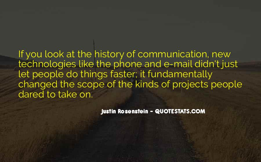 Quotes About Phone Communication #941140