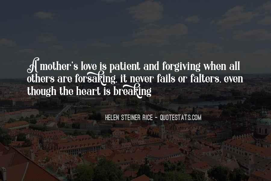 Quotes About Mother S Love #132613