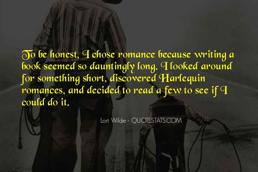 Quotes About Short Romances #1046269
