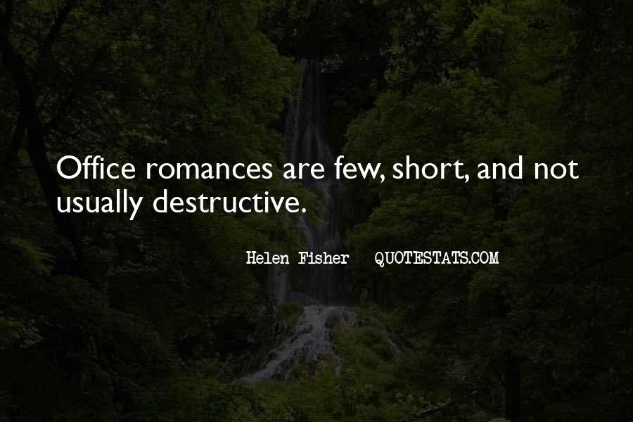 Quotes About Short Romances #581786