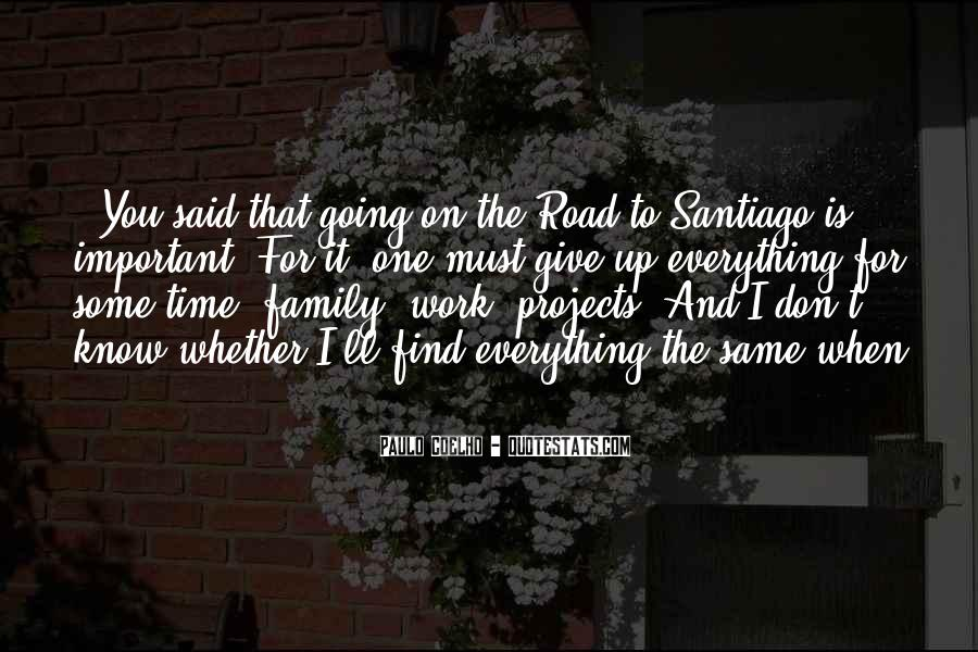 Quotes About Work Over Family #100219