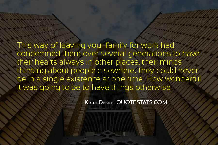 Quotes About Work Over Family #1720040