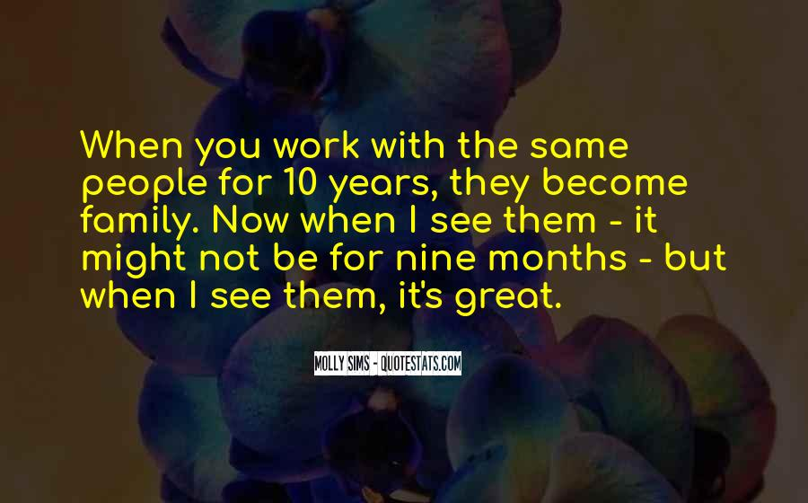 Quotes About Work Over Family #17280
