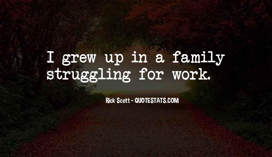 Quotes About Work Over Family #36295