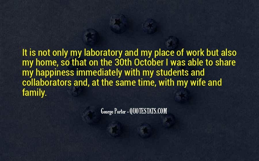 Quotes About Work Over Family #77686