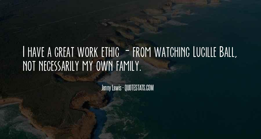 Quotes About Work Over Family #92877