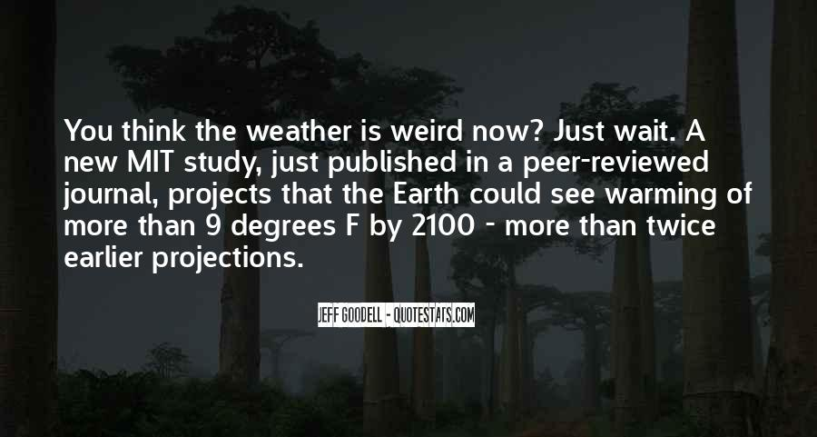 Quotes About Weird Weather #490956