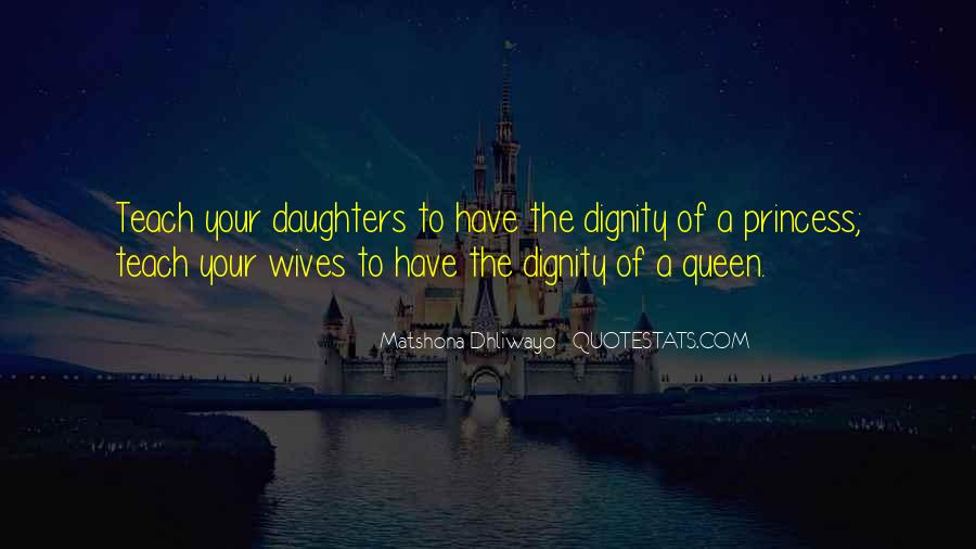 Quotes About Wives And Daughters #908154