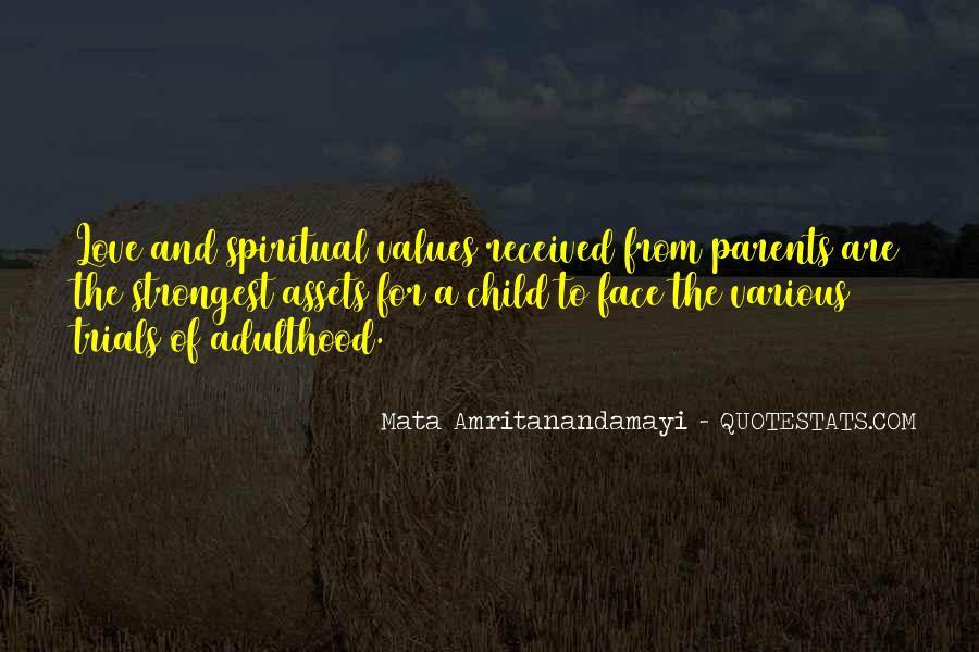 Quotes About Parents Love #123085