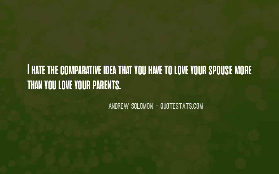 Quotes About Parents Love #128302