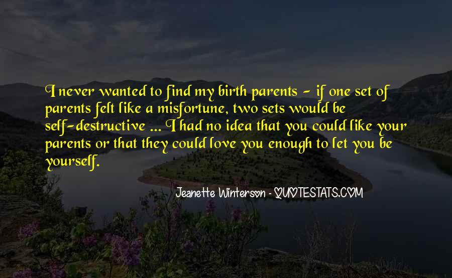 Quotes About Parents Love #154279