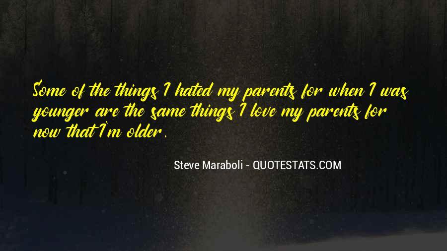 Quotes About Parents Love #199819