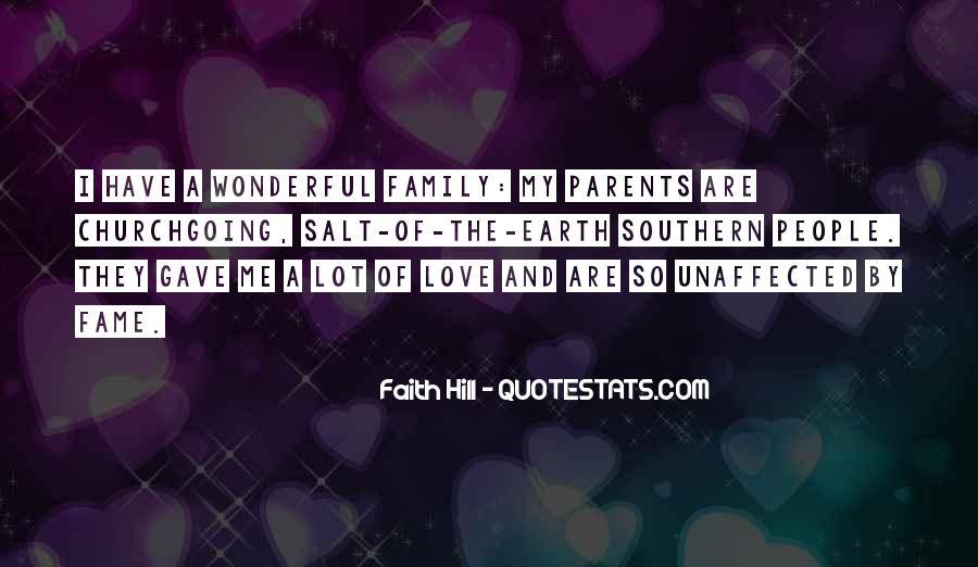 Quotes About Parents Love #47162