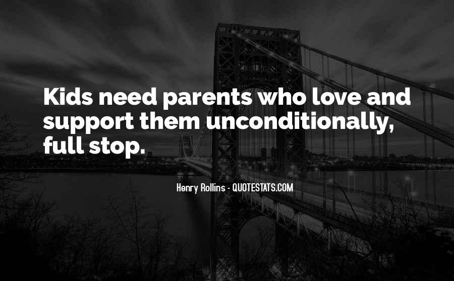 Quotes About Parents Love #89308