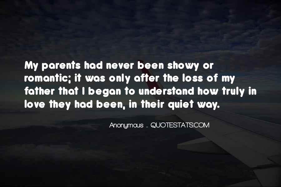 Quotes About Parents Love #94110