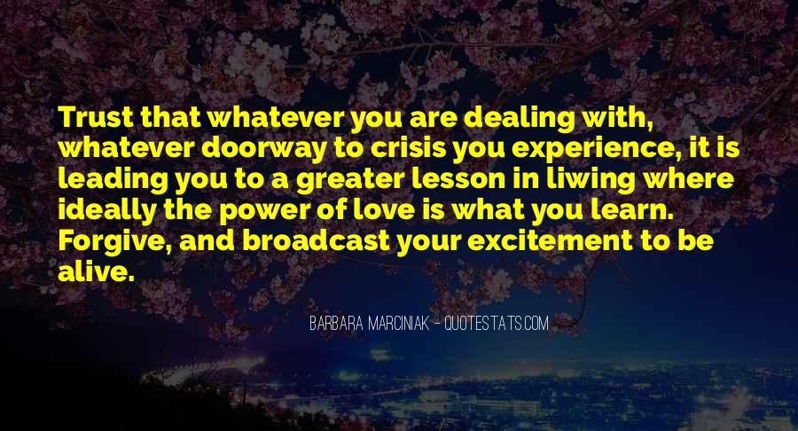 Quotes About Power Of Love #123527