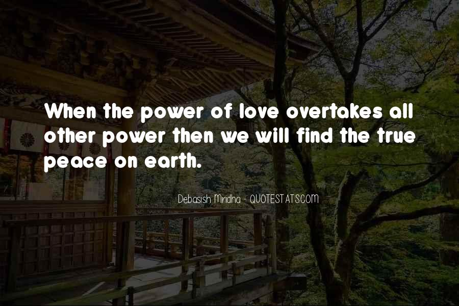 Quotes About Power Of Love #15110