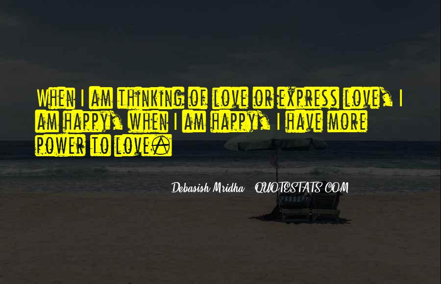 Quotes About Power Of Love #154563
