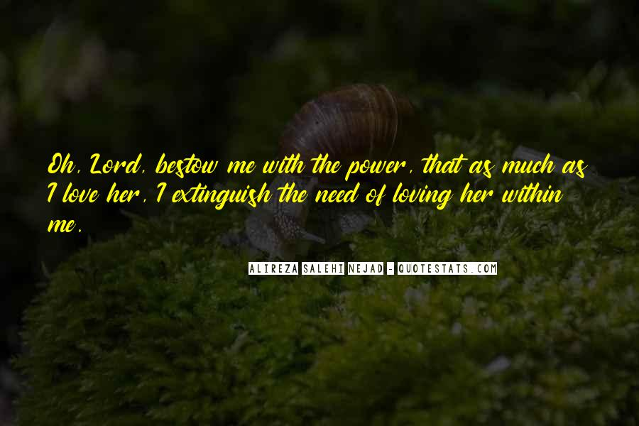 Quotes About Power Of Love #157345
